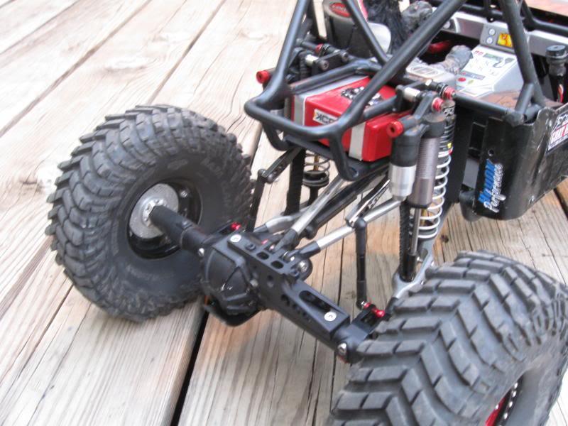 DmG Stiffy Kit for Trailing Arm Suspension, Blue Monkey RC